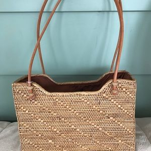 "Handbags - New - Never used Handbag - ""Elizabeth"" - weaved."